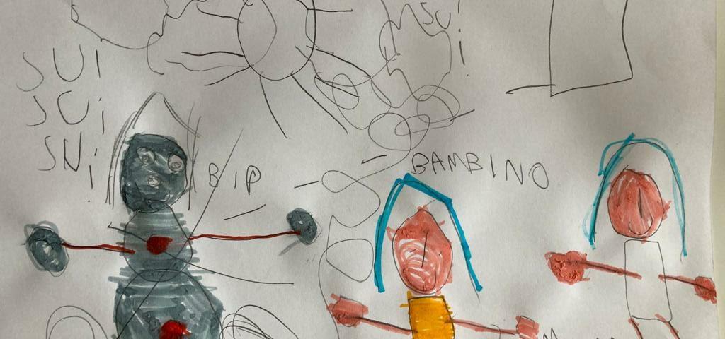 Favole e disegni con Fabiana